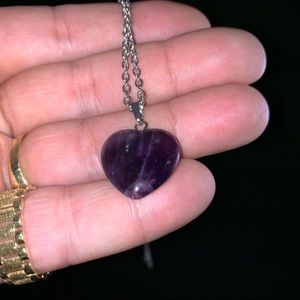 Jewelry - Amethyst necklace